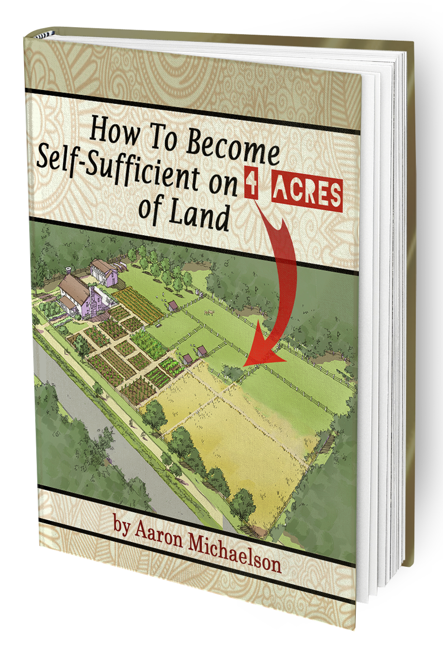 How to become self-sufficient on 4 acres of land